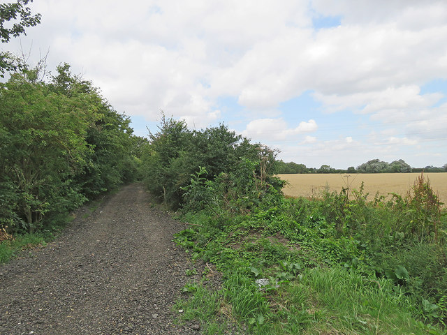 Low Fen Drove Way resurfaced