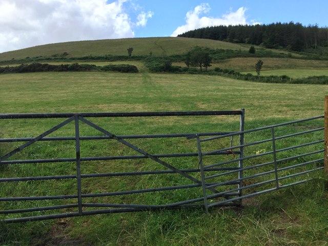 View towards Mynydd y Gaer