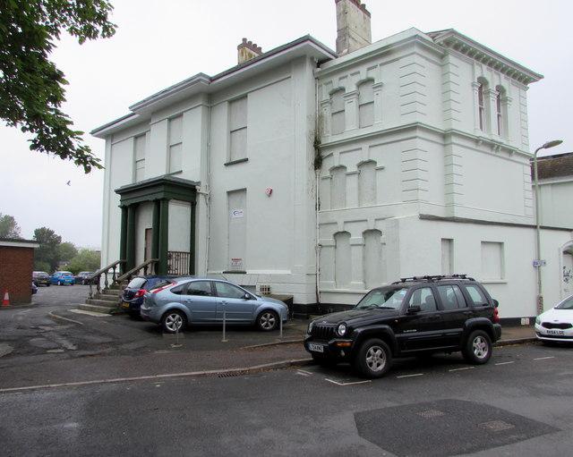 Derelict Litchdon Street building, Barnstaple