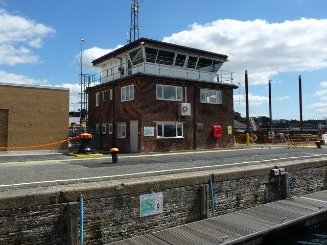 Control tower, Prince Philip Lock, Ipswich