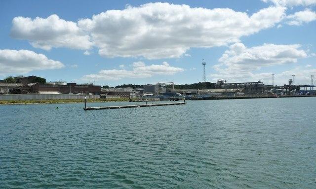 Floating pontoon, River Orwell, Ipswich