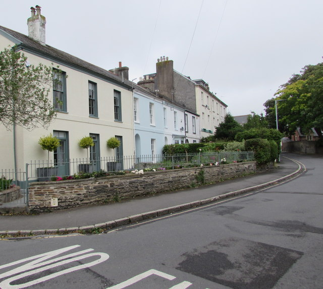 Barbican Terrace houses, Barnstaple