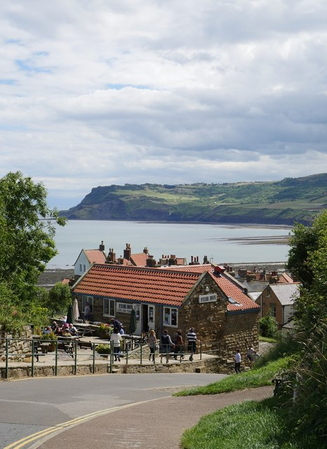 At The Top Of New Road, Robin Hood's Bay