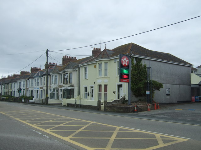 Houses on Beatrice Terrace, Hayle