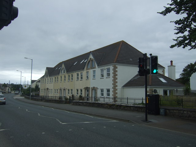 Houses on Pemare Terrace (B3301)