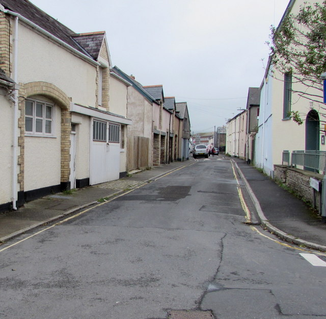 North along Trinity Street, Barnstaple
