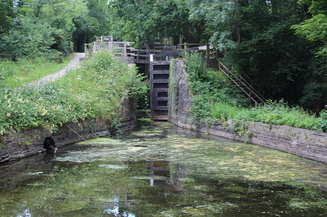Pound below Lock 17, Monmouthshire & Brecon Canal