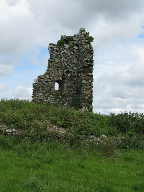 The remains of Castle Sinniness