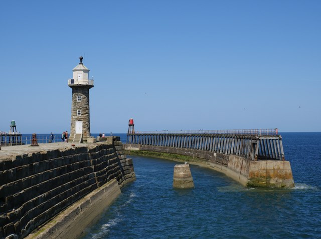 The East Pier, Whitby Harbour Mouth