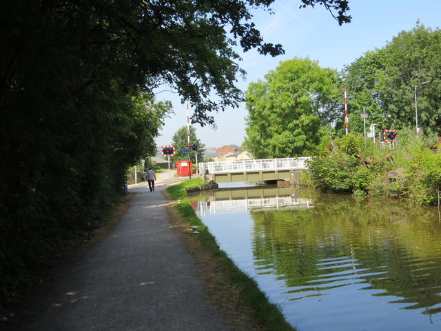 The Leeds and Liverpool Canal at Granby Lane Bridge