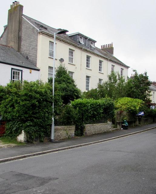 Grade II listed Barbican Terrace houses, Barnstaple
