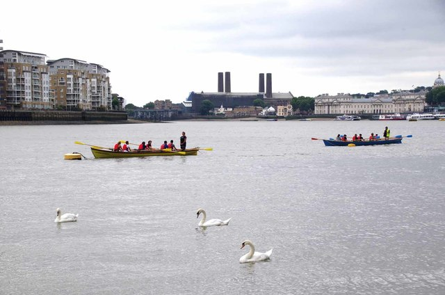 Thames and Row Boats