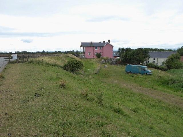 Approaching Porton House