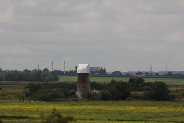 Langley Detached Windpump from Gariannonvm Roman Fort, Burgh Castle