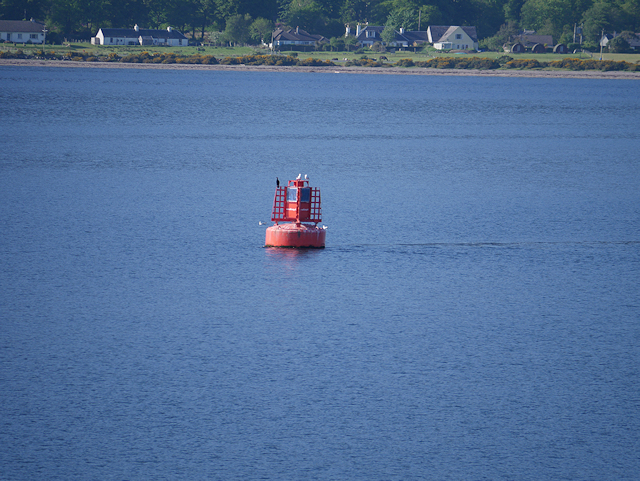 Red Buoy in Loch Linnhe
