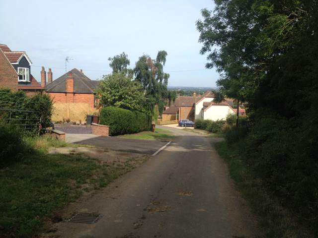 Coming into Stathern (2)