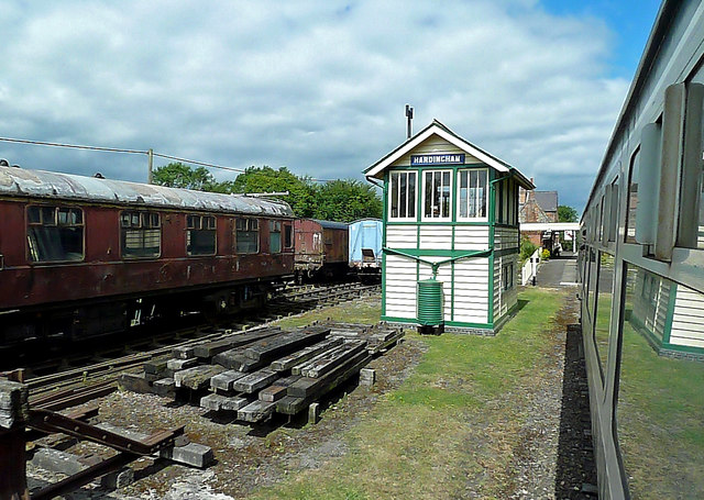 At Hardingham Station