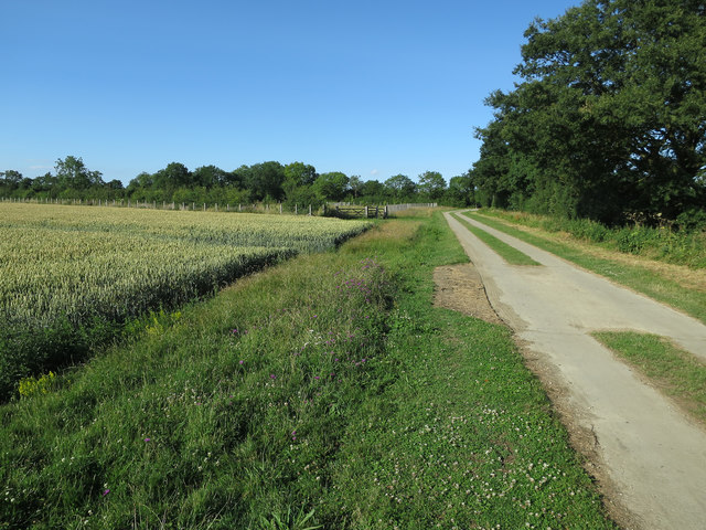Permissive bridleway, Coton Countryside Reserve