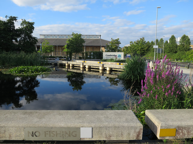Pond at Cambridge Regional College