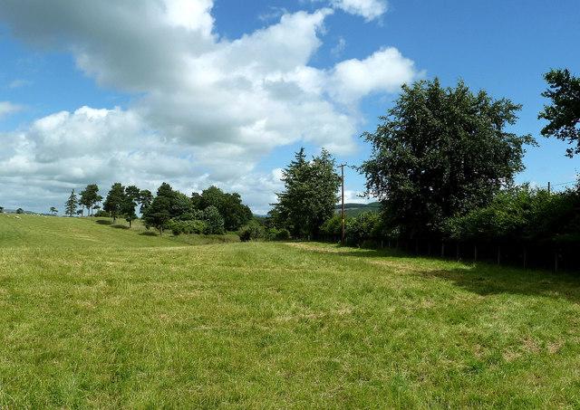 Farmland at Nether Hangingshaw