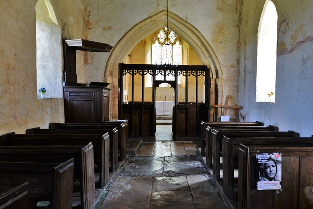 Hailes Old Church: The nave