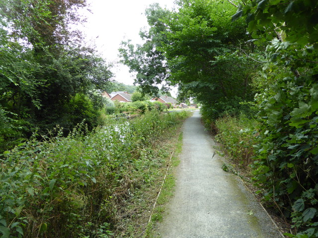Towpath in Berriew