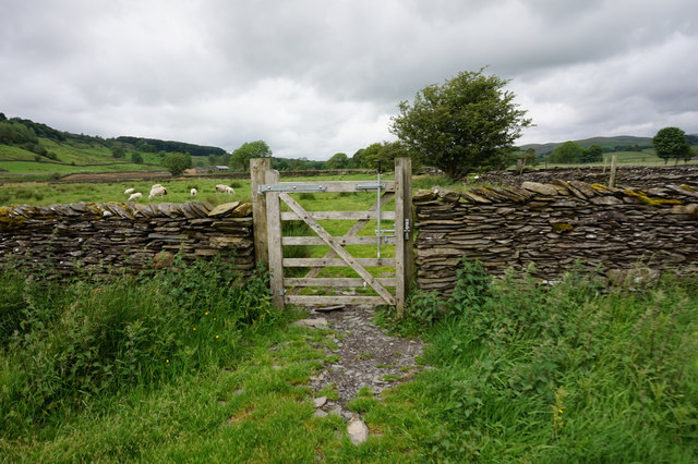 Ribble Way towards Helwith Bridge