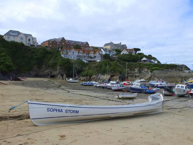 Sophia Storm at Slip Cove