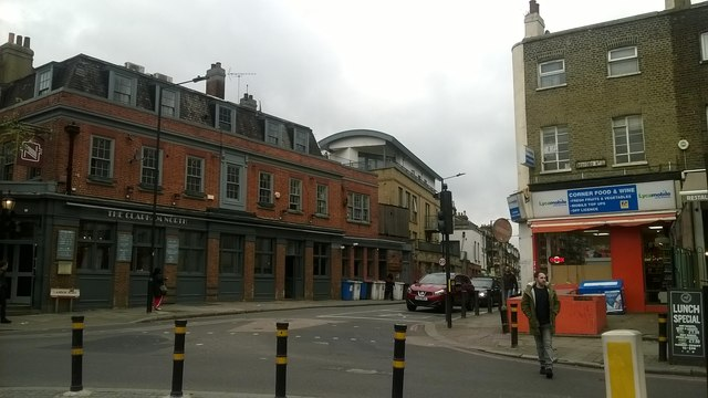 The Clapham North pub and the end of Landor Road