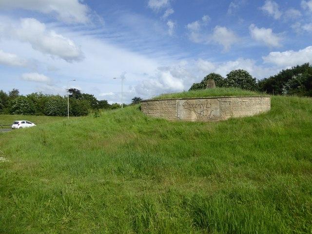 Mound outside Hilperton