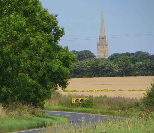 Towards Patrington on Welwick Road