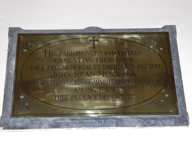 St Michael, Penhurst: memorial (a)