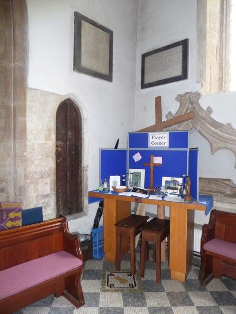 Inside St Mary, Yatton (a)