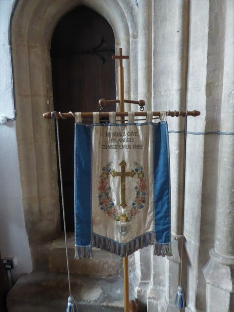 St Mary, Yatton: banner (a)