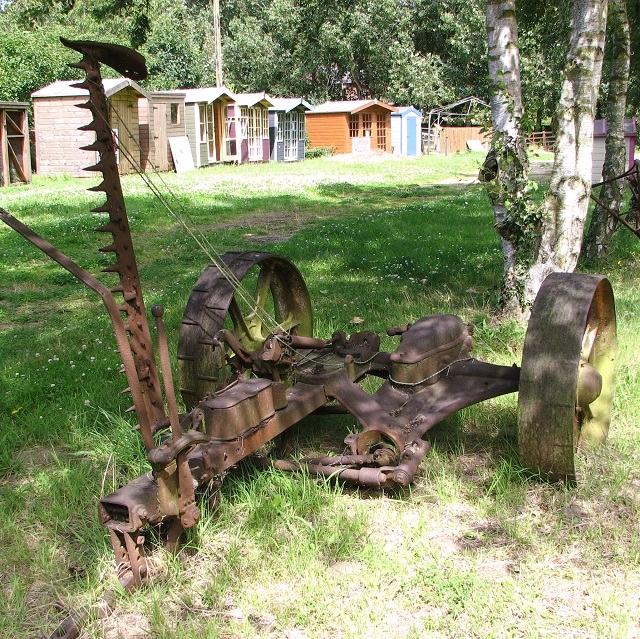 An old grass cutter