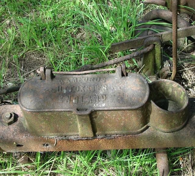An old grass cutter - detail