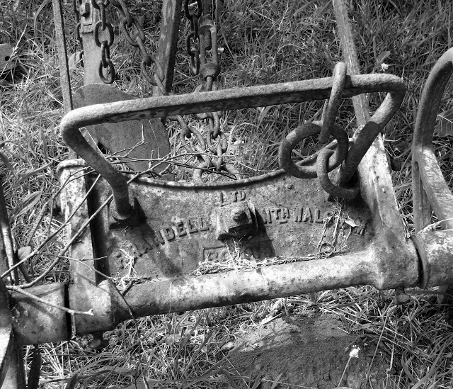 An old plough - detail