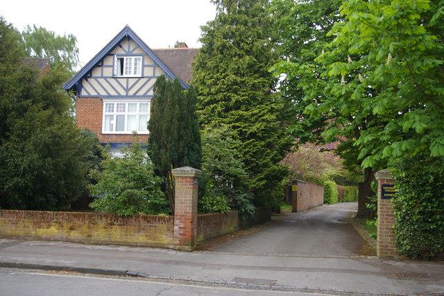 Staverton Road, Oxford: entrance to University College annexe