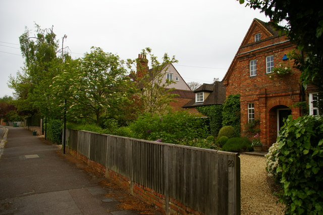 Houses on Northmoor Road, Oxford