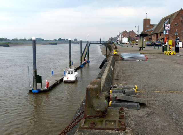 South Quay on the River Great Ouse, King's Lynn