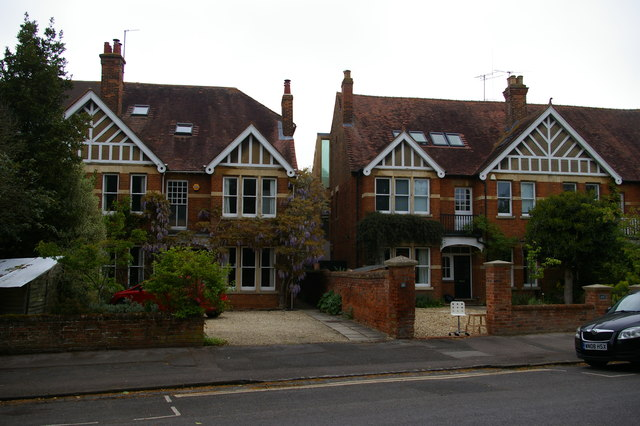 Houses on Staverton Road, Oxford