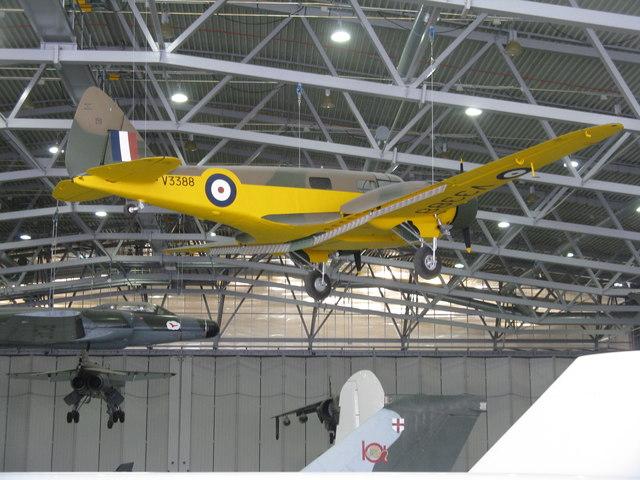 Airspeed Oxford at Duxford