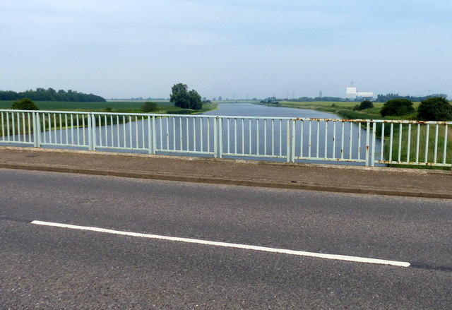 Saddlebow Bridge crossing the Relief Channel