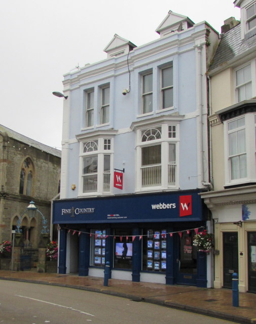 Webbers estate agents in Ilfracombe