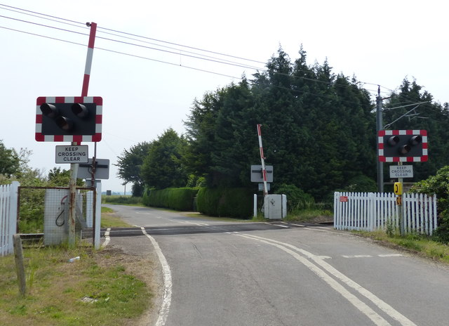 Mill Road level crossing