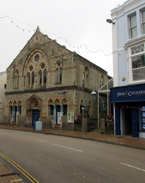 Grade II listed former church, 48 High Street, Ilfracombe