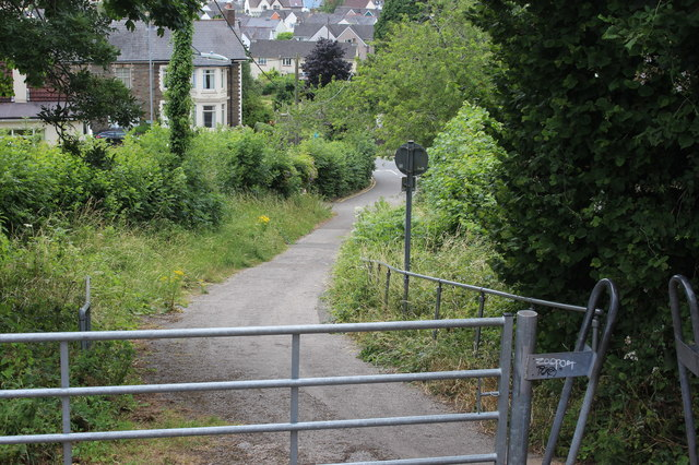 End of Groes Road, Rogerstone