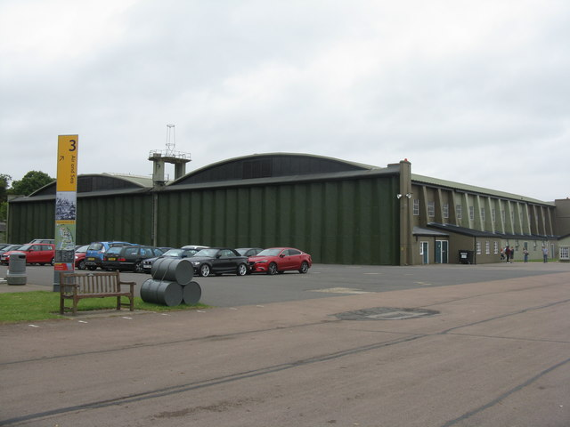Air and Sea Hangar at Duxford