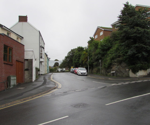 Junction of Highfield Road and Marlborough Road, Ilfracombe