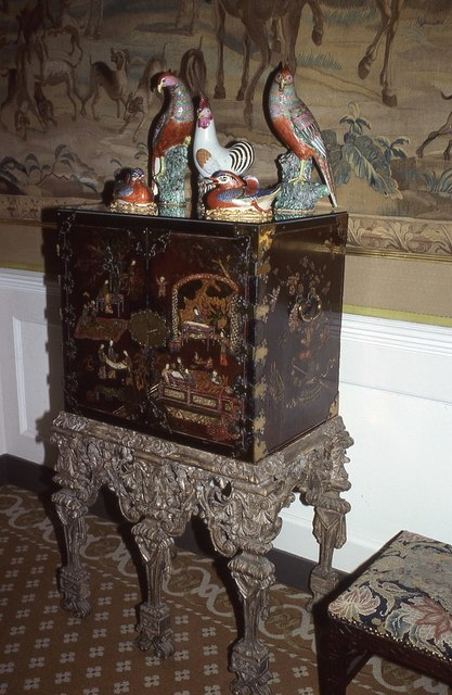 A cabinet in Clandon Park